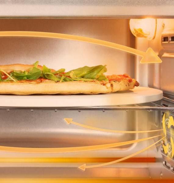 HORNO ELÉCTRICO BAKE&TOAST 610 4PIZZA