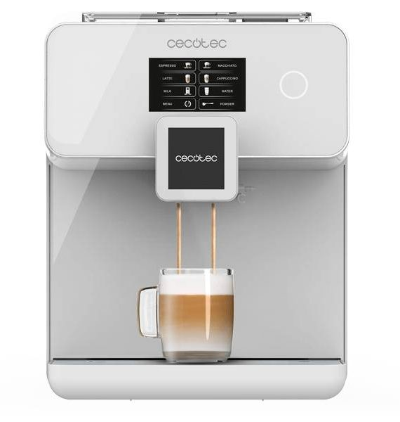 Cafetera Power Matic-CCINO 8000 Touch serie Bianca