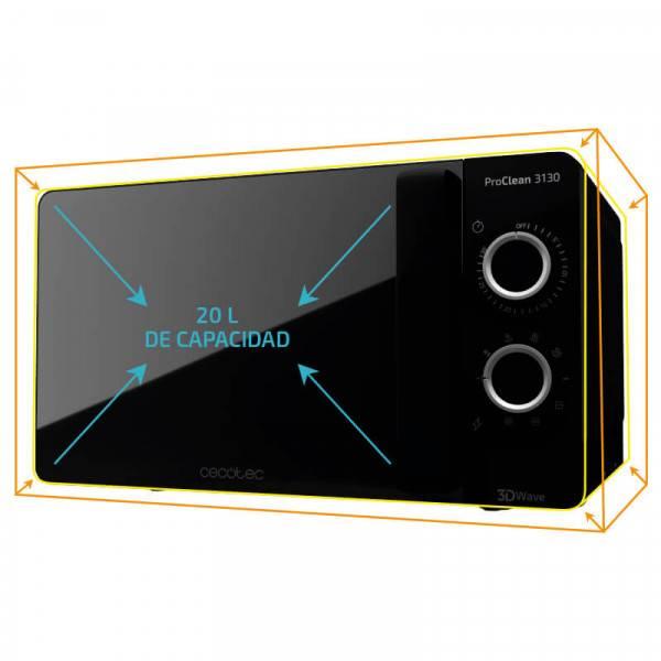 Microondas con grill ProClean 3130