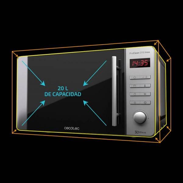 Microondas con grill ProClean 5110 Inox