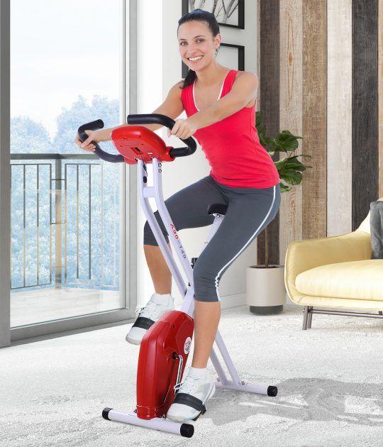 Bicicletade Fitness Plegable de ejercicio Jolitec