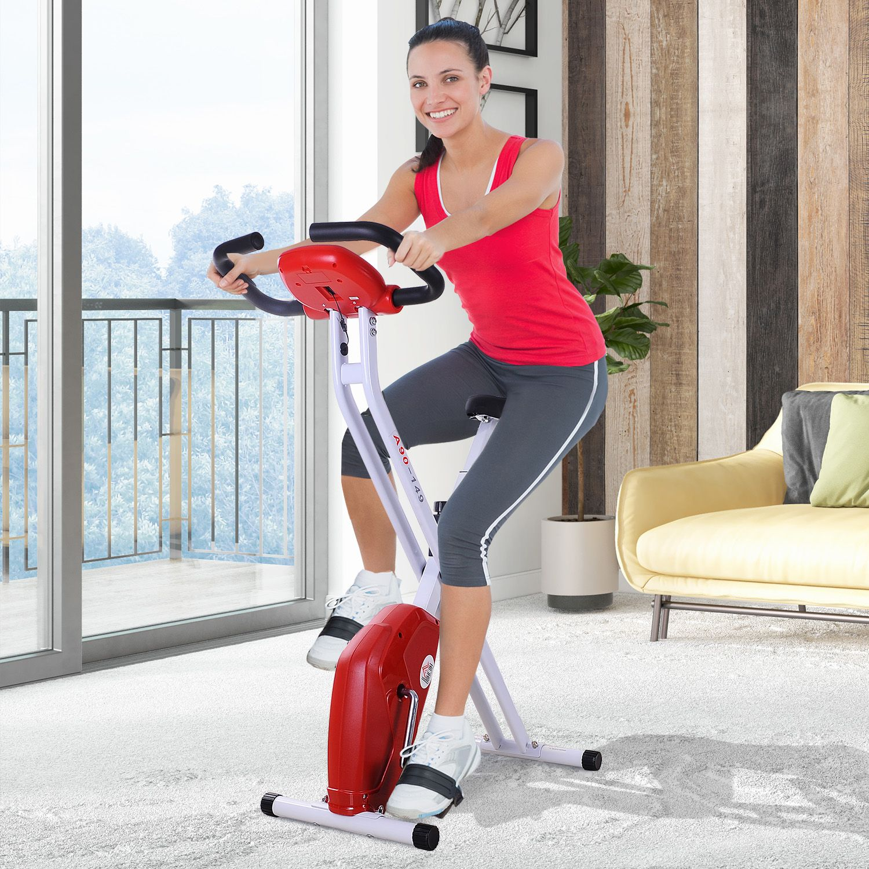 Jolitec® Bicicleta de Fitness Plegable