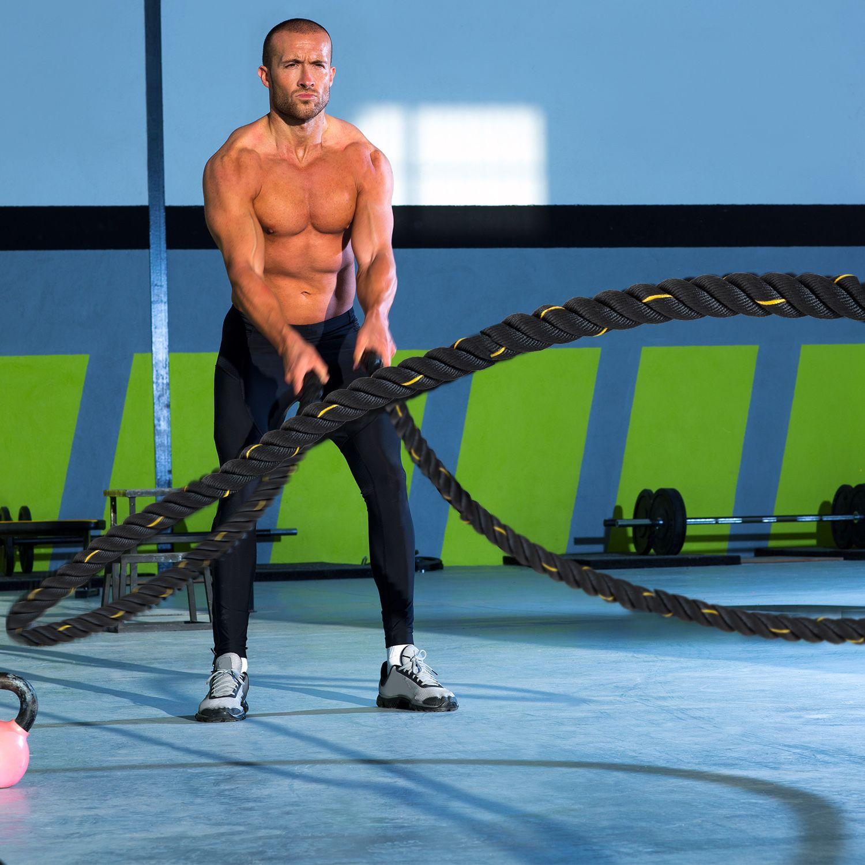 Jolitec  Battle Rope de Fitness y Crossfit 9 Metros