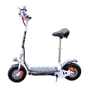 CityStreet 1200W/36V/9aH/Litio Blanco Gran-Scooter