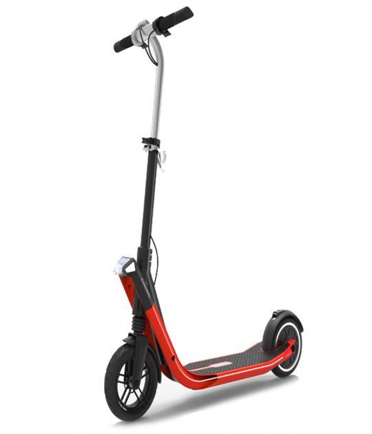 Patinete electrónico Rojo Gran-Scooter