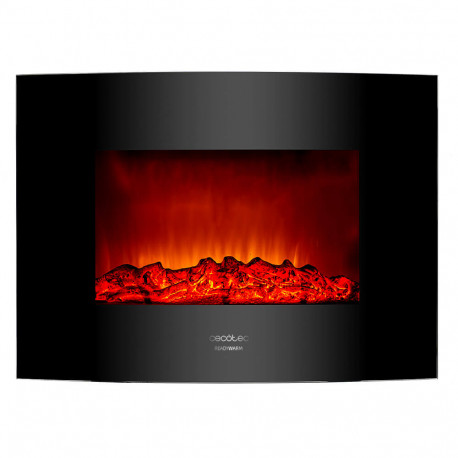 Ready Warm 2200 Curved Flames chimenea eléctrica