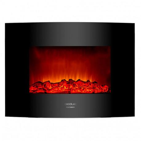 Ready Warm 2200 Curved Flames chimenea eléctrica
