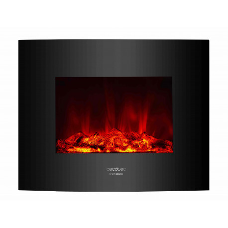 Chimenea eléctrica Ready Warm 2600 Curved Flames