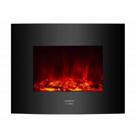 Chimenea eléctrica Ready Warm 2600 Curved Flames