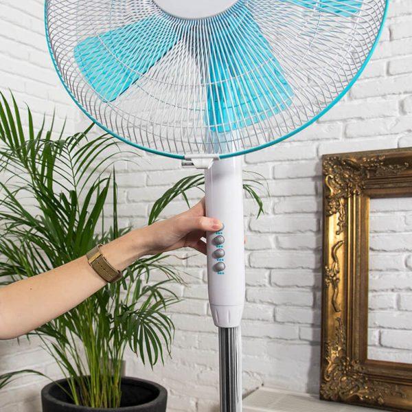 Ventilador de pie Energysilence 500 velocidad ajustable