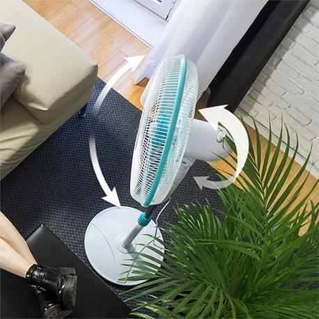 Ventilador de pie Energysilence 500 giratorio