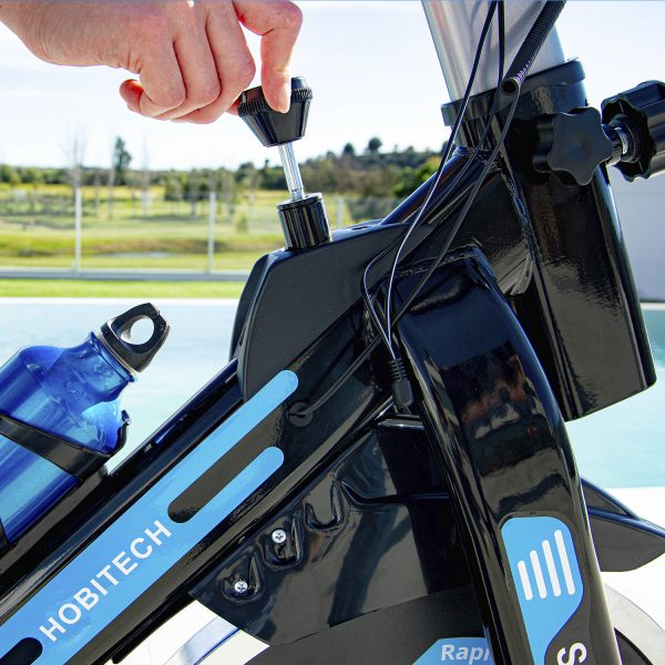 Bicicleta Spinning Extreme Blue resistencias regulables