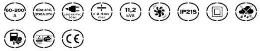 Caracteristicas del Equipo de Soldadura Perfect Weld 200 Vito Pro-Power