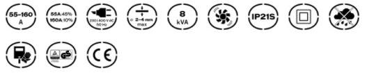 Características del Equipo de Soldadura Perfect Weld 160 Vito Pro-Power