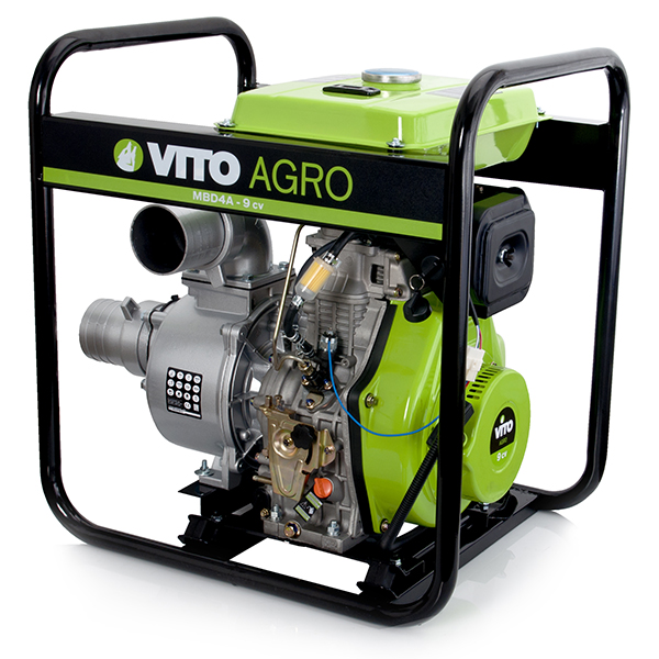 Motobomba Diesel 4'' Water Force Vito Agro