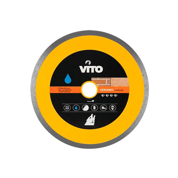 Disco Diamante Corte continuo de Cerámica Vito Pro-Power