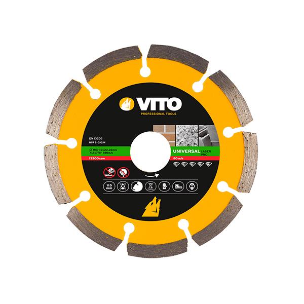 Disco Diamante Láser Pro Vito Pro-Power