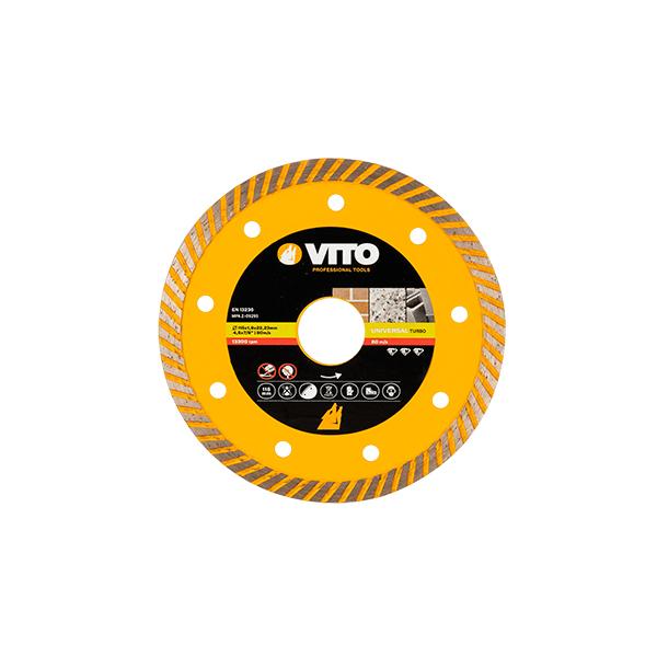 Disco Diamante Universal Turbo Vito Pro-Power