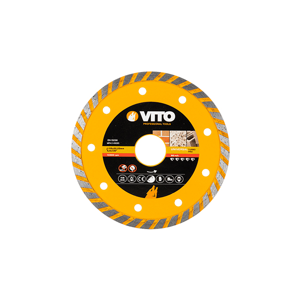 Disco Diamante Turbo 115MM PRO Vito Pro-Power