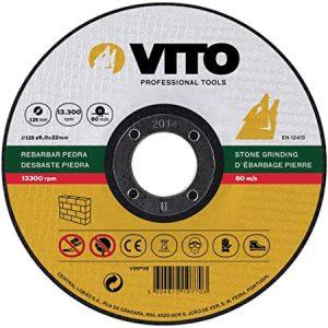 Disco de Desbaste Piedra Vito Pro-Power