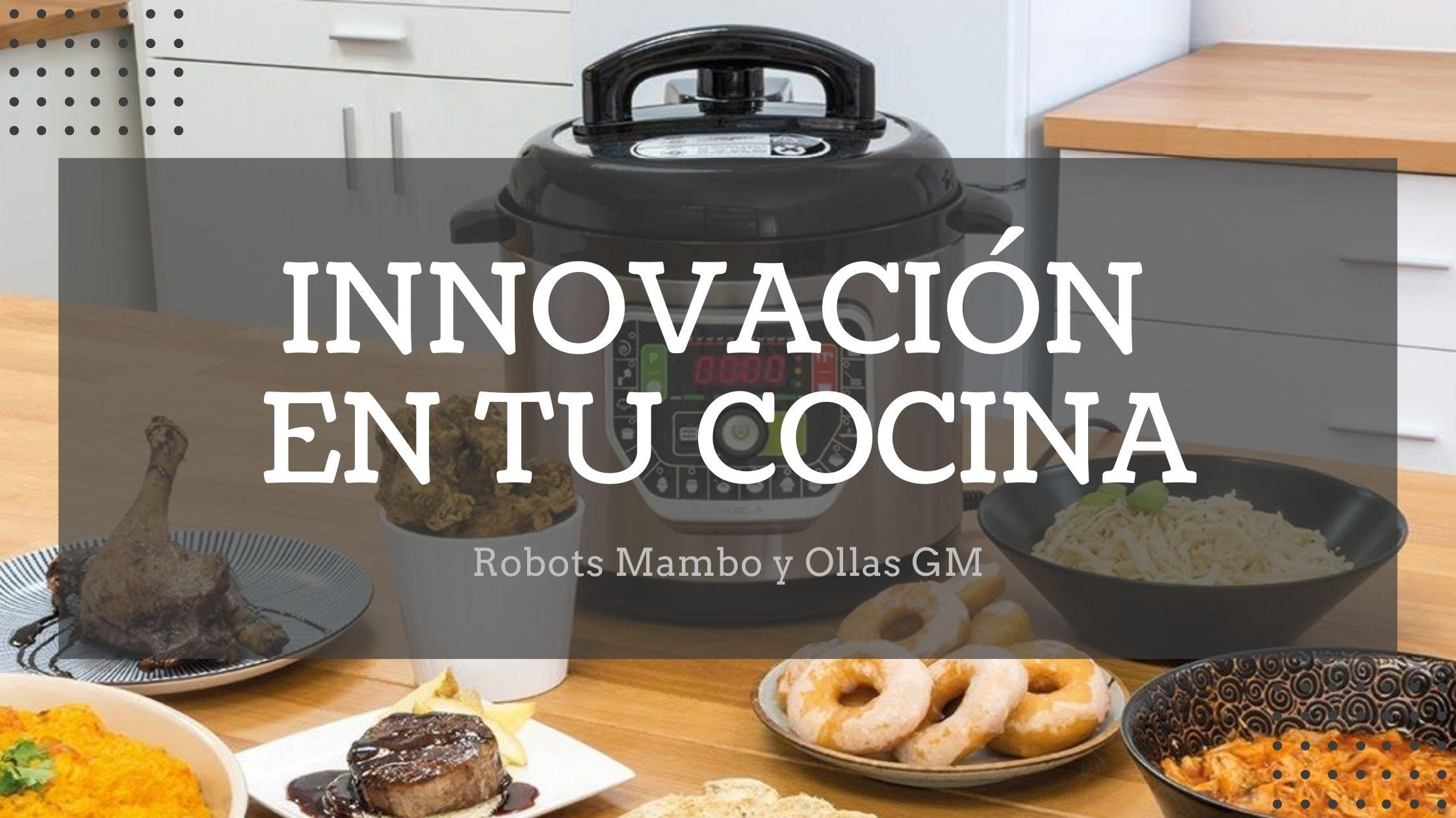 Robots Mambo y Ollas GM