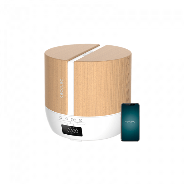 Humidificador PureAroma 550 Connected White Woody