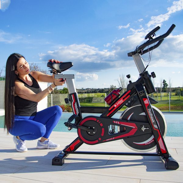 Bicicleta Spinning Rd Hawk sillin ajustable
