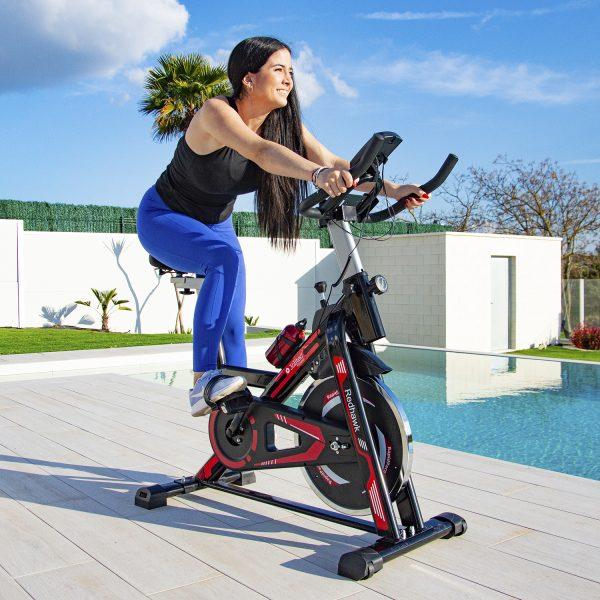 Bicicleta Spinning Red Hawk características