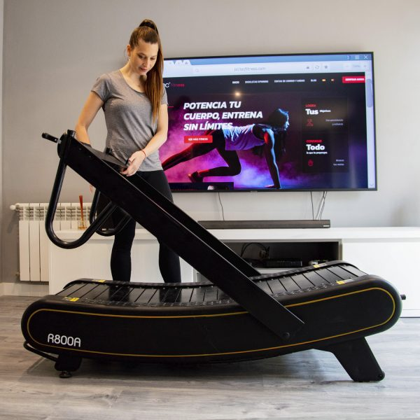 cinta curva plegable curve treadmill