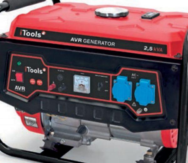 Generador 2,5 Kva de I-Tools características