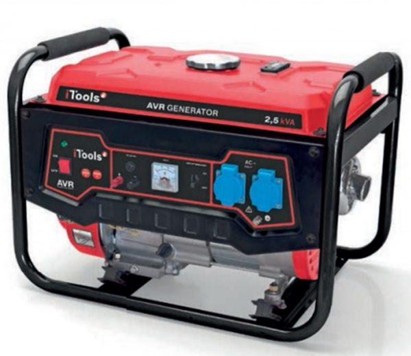 Generador 2,5 Kva de I-Tools dimensiones