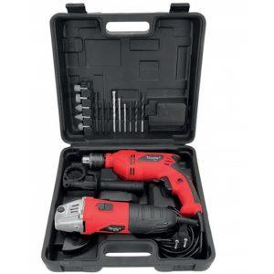 Maletin rigido con amoladora y taladro I-Tools