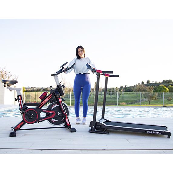 Pack Fitness Bicicleta Spinning + Cinta de andar