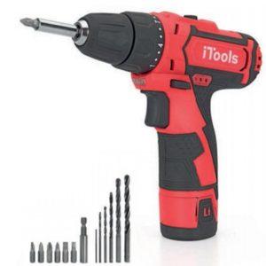 Taladro Atornillador I-Tools herramienta