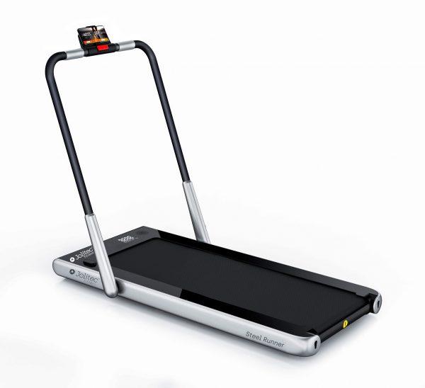 Cinta de correr Steel Runner con monitor