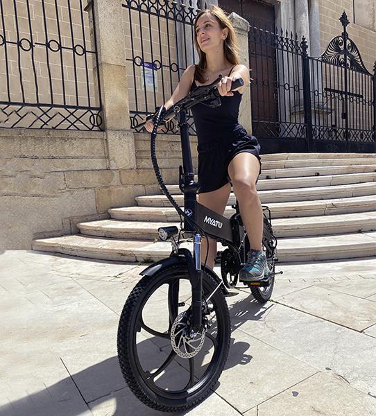 Bicicleta eléctrica plegable Ebike Revolution City 30