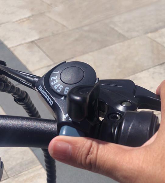 Bicicleta eléctrica plegable con ordenador abordo