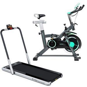 Bicicleta-Spinning-Extreme-20--y-Cinta-de-Correr-Steel-Runner